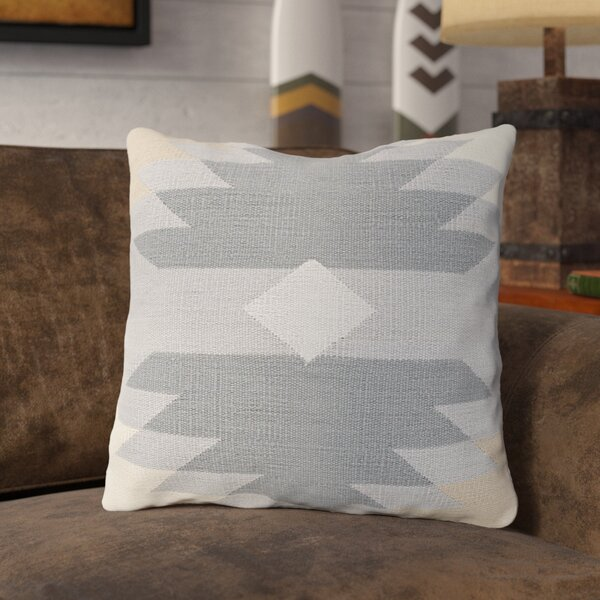 Todd 100% Cotton Throw Pillow by Union Rustic